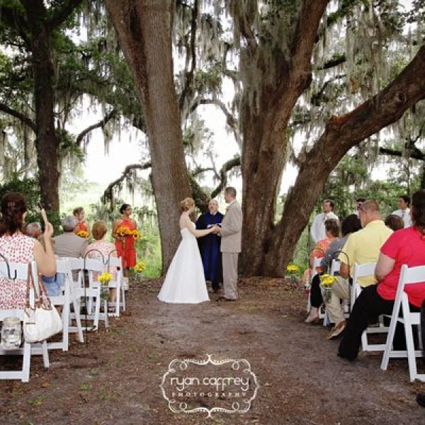 kanapaha botanical gardens outdoor weddings