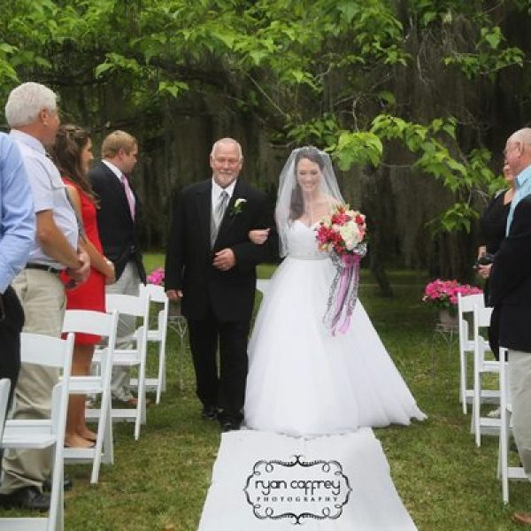 outdoor weddings at kanapaha botanical gardens in gainesville florida