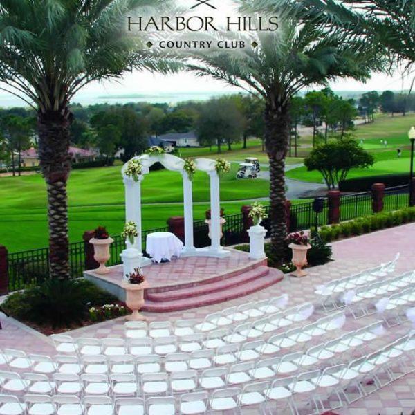 Harbor Hills Country club Lady Lake wedding venue