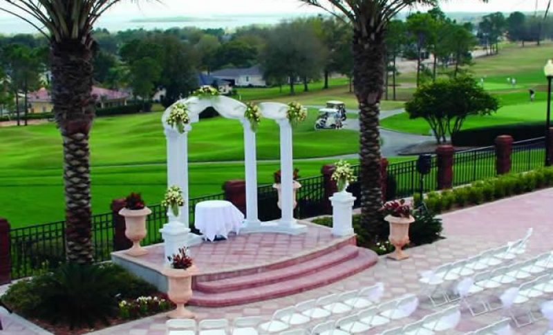 Harbor Hills Country club Lady Lake wedding venue