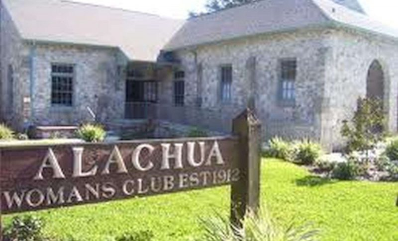 Alachua Women's Club wedding venue