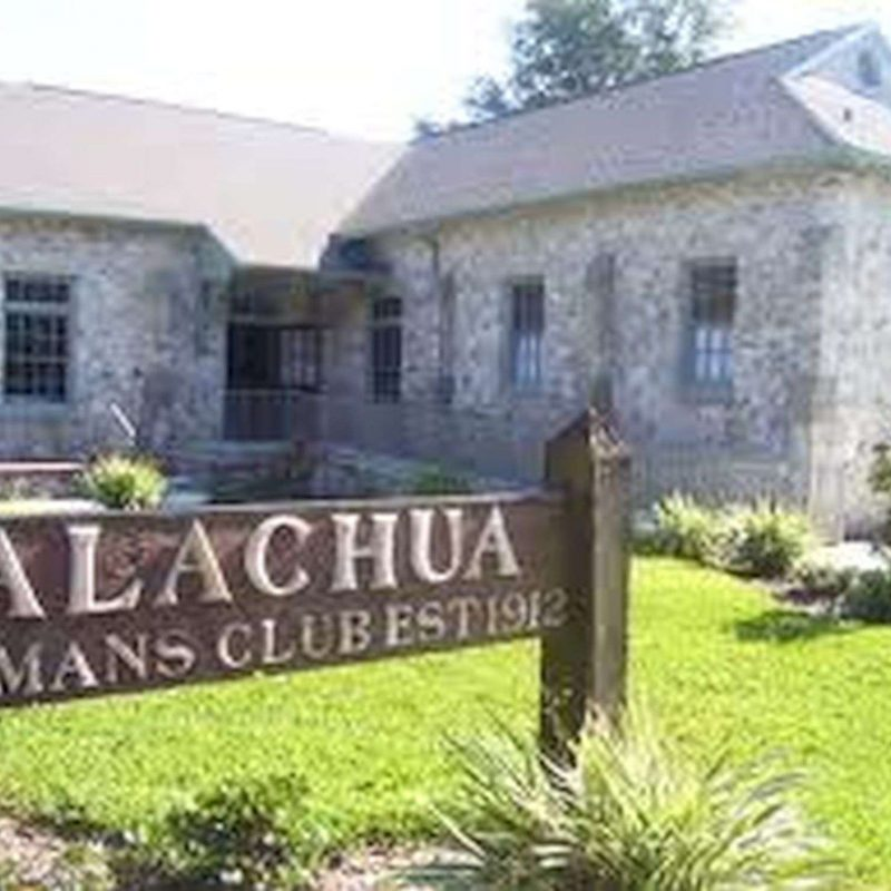 Alachua Women's Club wedding venue