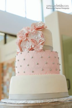 Cake by Campbell's Bakery, Photo by Alisa Chapman Photography