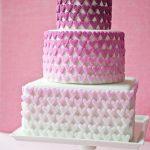 Playful wedding cakes