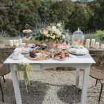 Luxe delicacy table for wedding