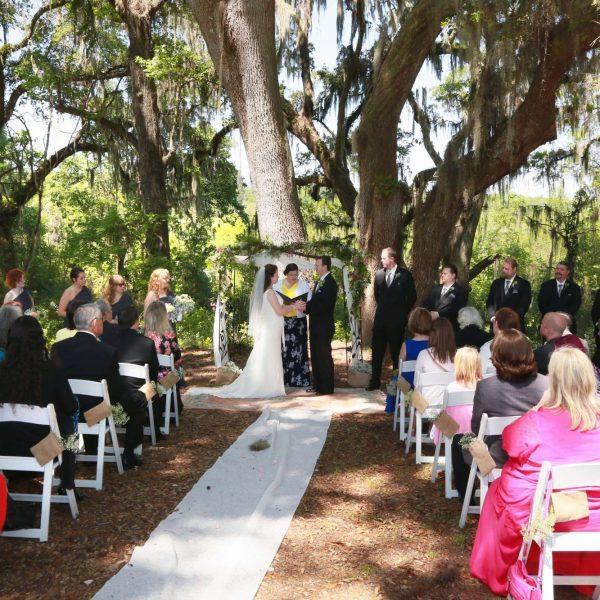 outdoor weddings in North Central Florida