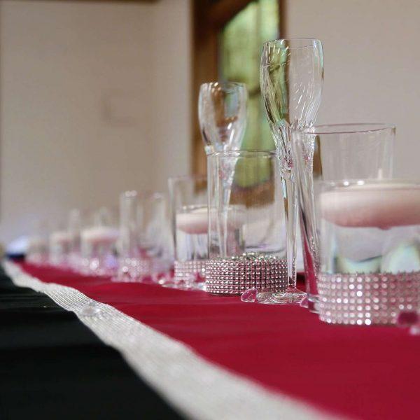 head table wedding decor rentals