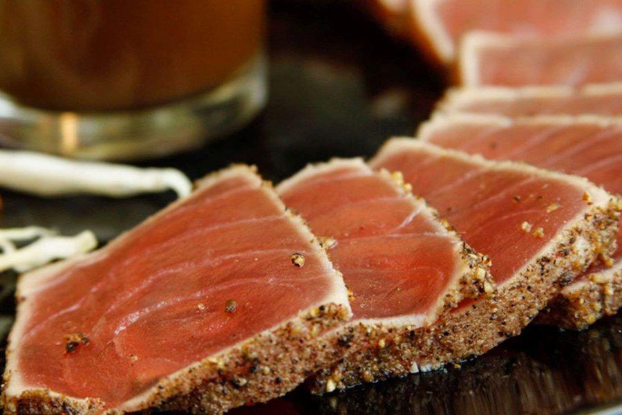 Mark's Prime Steakhouse Ahi tuna