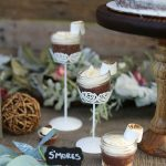 S'mores flavored desserts for wedding