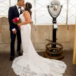 Wedding atop the Empire State Building