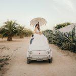 Italian wedding bride. Photo by Cinzia Bruschini
