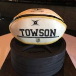 Groom's Cake with Football theme