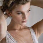 Bride's gold crown from Viktoria Novak