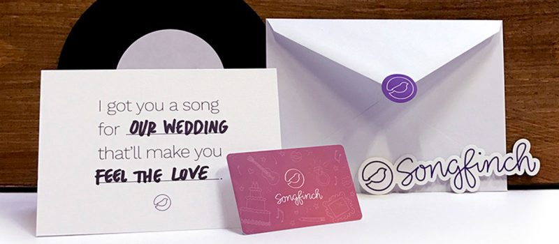 Songfinch customized songs for the bride and groom
