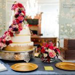 Five Tier Wedding Cake from Dallas Affaires Cake Company