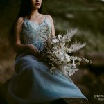 Free flowing bridal bouquets
