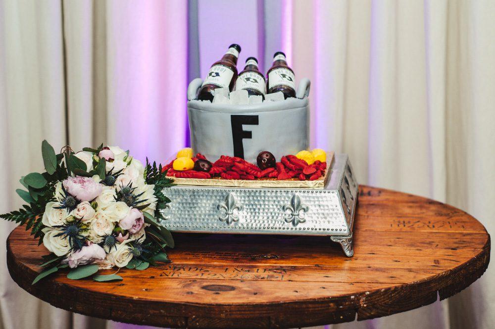 Southern Wedding Groom's Cake